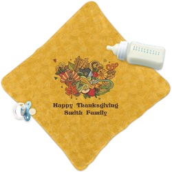 Happy Thanksgiving Security Blanket (Personalized)