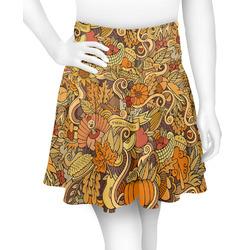 Happy Thanksgiving Skater Skirt (Personalized)