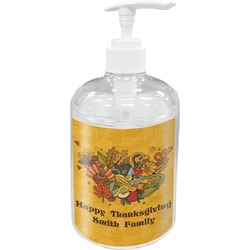 Happy Thanksgiving Soap / Lotion Dispenser (Personalized)