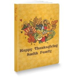 Happy Thanksgiving Softbound Notebook (Personalized)