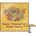 Happy Thanksgiving Square Table Top (Personalized)