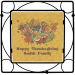 Happy Thanksgiving Square Trivet (Personalized)