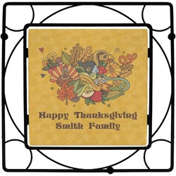 Happy Thanksgiving Trivet (Personalized)