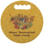 Happy Thanksgiving Stadium Cushion (Round) (Personalized)