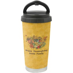 Happy Thanksgiving Stainless Steel Travel Mug (Personalized)