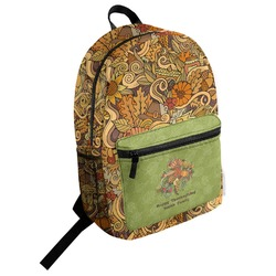 Happy Thanksgiving Student Backpack (Personalized)