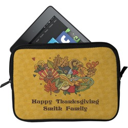 Happy Thanksgiving Tablet Case / Sleeve (Personalized)