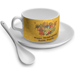 Happy Thanksgiving Tea Cups (Personalized)