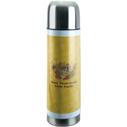 Happy Thanksgiving Stainless Steel Thermos (Personalized)