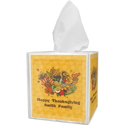 Happy Thanksgiving Tissue Box Cover (Personalized)