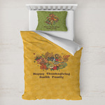 Happy Thanksgiving Toddler Bedding w/ Name or Text