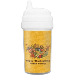 Happy Thanksgiving Toddler Sippy Cup (Personalized)