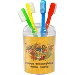 Happy Thanksgiving Toothbrush Holder (Personalized)