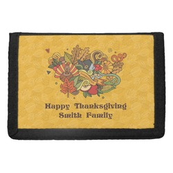 Happy Thanksgiving Trifold Wallet (Personalized)