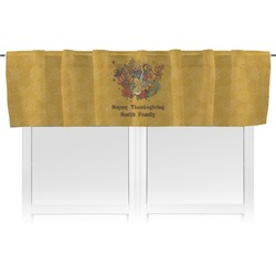 Happy Thanksgiving Valance (Personalized)