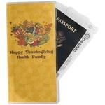 Happy Thanksgiving Travel Document Holder
