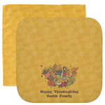 Happy Thanksgiving Facecloth / Wash Cloth (Personalized)