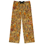 Happy Thanksgiving Womens Pajama Pants (Personalized)