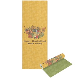 Happy Thanksgiving Yoga Mat - Printable Front and Back (Personalized)