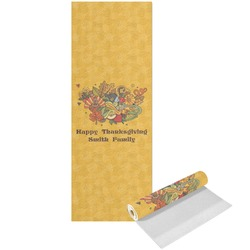Happy Thanksgiving Yoga Mat - Printed Front (Personalized)