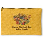 Happy Thanksgiving Zipper Pouch (Personalized)