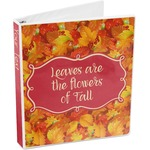 Fall Leaves 3-Ring Binder