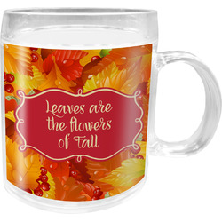 Fall Leaves Acrylic Kids Mug