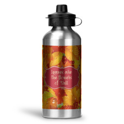 Fall Leaves Water Bottle - Aluminum - 20 oz