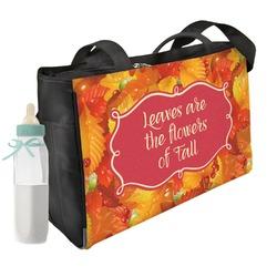 Fall Leaves Diaper Bag