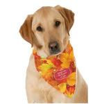 Fall Leaves Pet Bandanas
