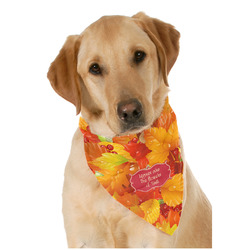 Fall Leaves Dog Bandana Scarf