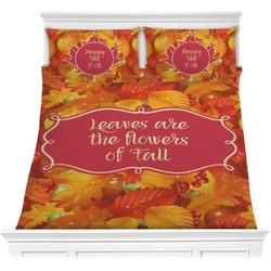 Fall Leaves Comforter Set
