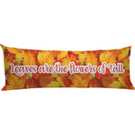 Fall Leaves Body Pillow Case