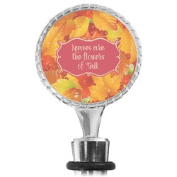 Fall Leaves Wine Bottle Stopper