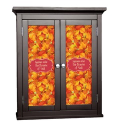 Fall Leaves Cabinet Decal - Custom Size