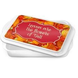 Fall Leaves Cake Pan