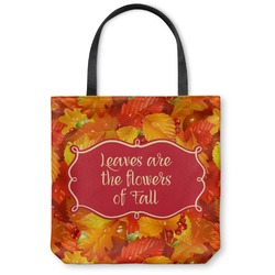 Fall Leaves Canvas Tote Bag