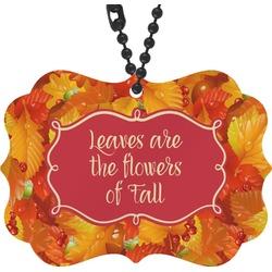 Fall Leaves Rear View Mirror Charm
