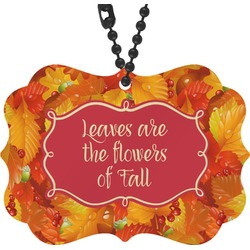Fall Leaves Rear View Mirror Decor