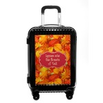 Fall Leaves Carry On Hard Shell Suitcase
