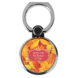 Fall Leaves Cell Phone Ring Stand & Holder