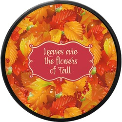 Fall Leaves Round Trailer Hitch Cover