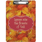 Fall Leaves Clipboard