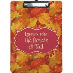 Fall Leaves Clipboard