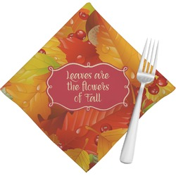 Fall Leaves Napkins (Set of 4)