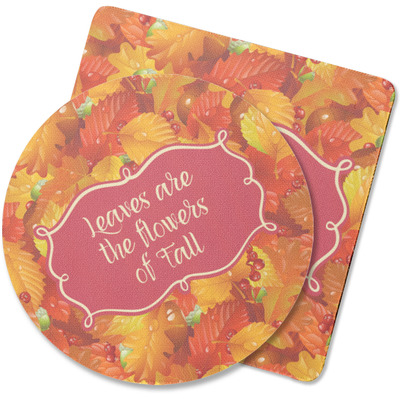 Fall Leaves Rubber Backed Coaster