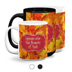 Fall Leaves Coffee Mugs