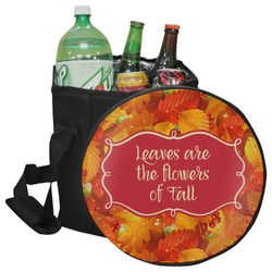 Fall Leaves Collapsible Cooler & Seat