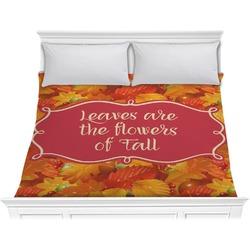 Fall Leaves Comforter - King