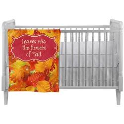 Fall Leaves Crib Comforter / Quilt